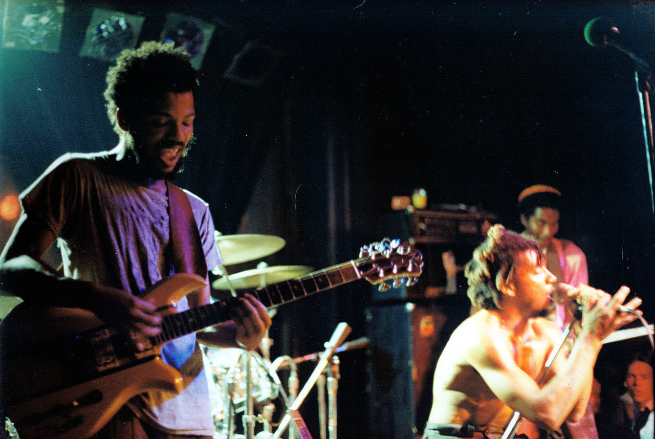 Bad Brains at the 9:30 Club in 1983. Image by Malco23 courtesy of Wikimedia Commons.